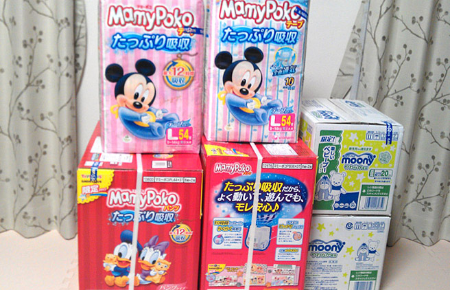 マミーポコやムーニー購入で1,000円キャッシュバック
